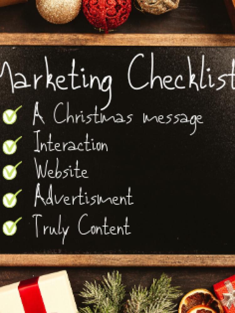 Your Christmas Marketing Checklist