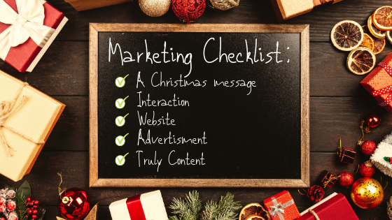 Your Christmas Marketing Checklist