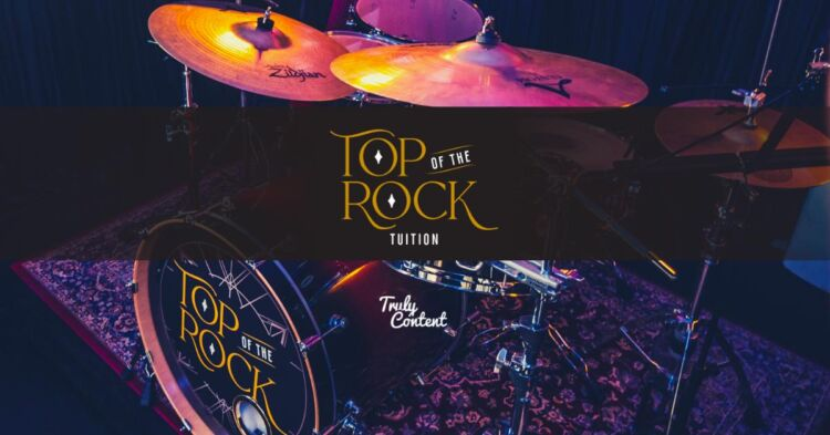 Learn Drums With Top Of The Rock Tuition